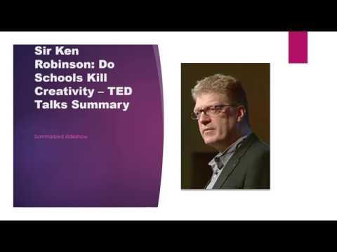 ted do schools kill creativity