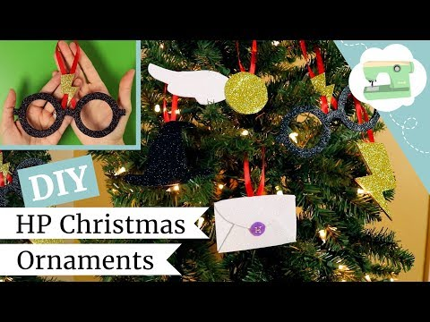 Diy Harry Potter Christmas Ornaments