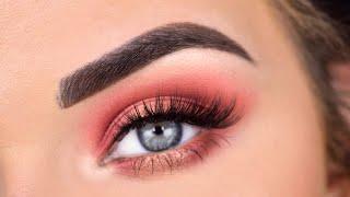 Morphe x James Charles Palette Eye Makeup Tutorial | Boyfriend Picks My Eyeshadow