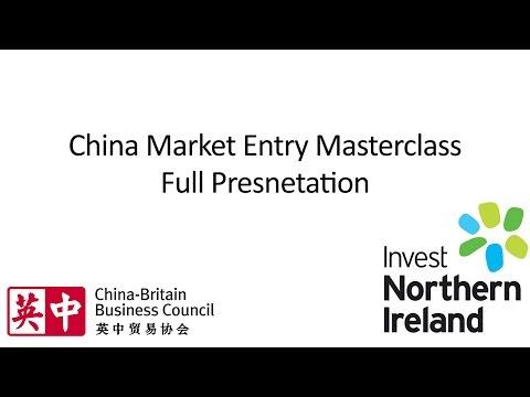 China Market Entry Masterclass | Full Presentation | February 2016