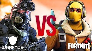 WARFACE VS FORTNITE | СУПЕР РЭП БИТВА | Варфейс ПРОТИВ Фортнайт