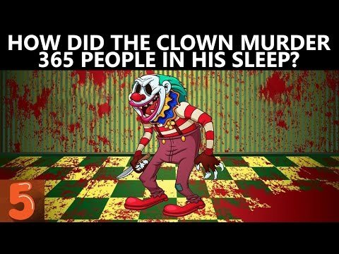 Thumbnail: 5 Clown Murder Riddles That Will Blow Your Mind