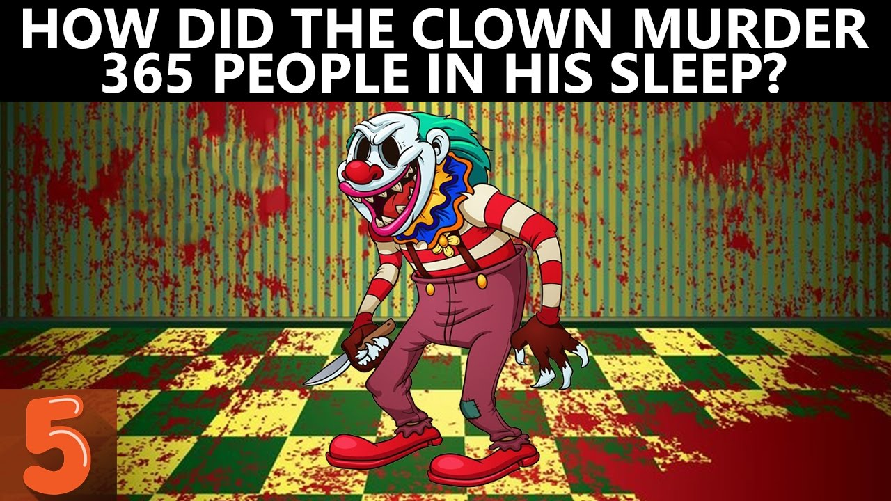 5 Clown Murder Riddles That Will Blow Your Mind - Fact5