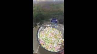 166. Салат с Креветками (А-лЯ) с крабовыми палочками!!!
