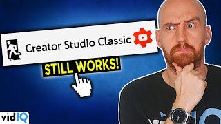 How ANYONE Can STILL ACCESS the CLASSIC YOUTUBE CREATOR STUDIO!