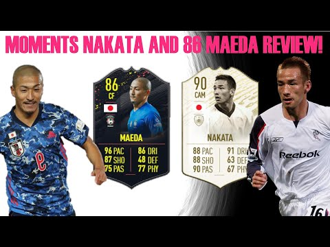 90 Prime Moments Nakata + 86 Daizen Maeda Review! Ft. The Best Japanese Team In Fifa 20!