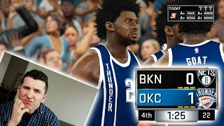 IS IT POSSIBLE TO WIN A GAME 1-0? NBA 2K17 CHALLENGE