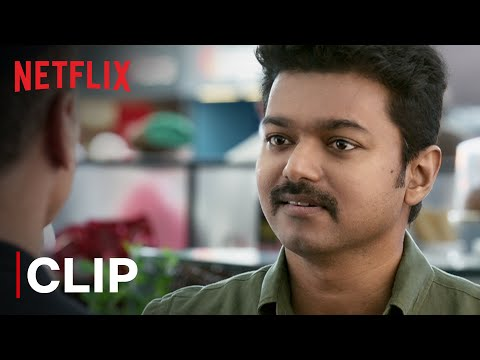 Thalapathy Vijay Fights To Save A Life | Mersal | Tamil Film | Netflix India