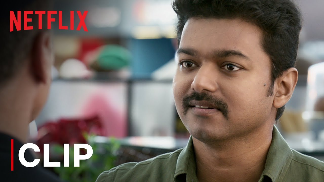Download Thalapathy Vijay Mass Airport Scene | Mersal | Tamil Film | Netflix India
