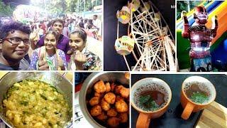 திருவிழா போகலாம் வாங்க/Lemon Tea/soya pakoda/potato thokku