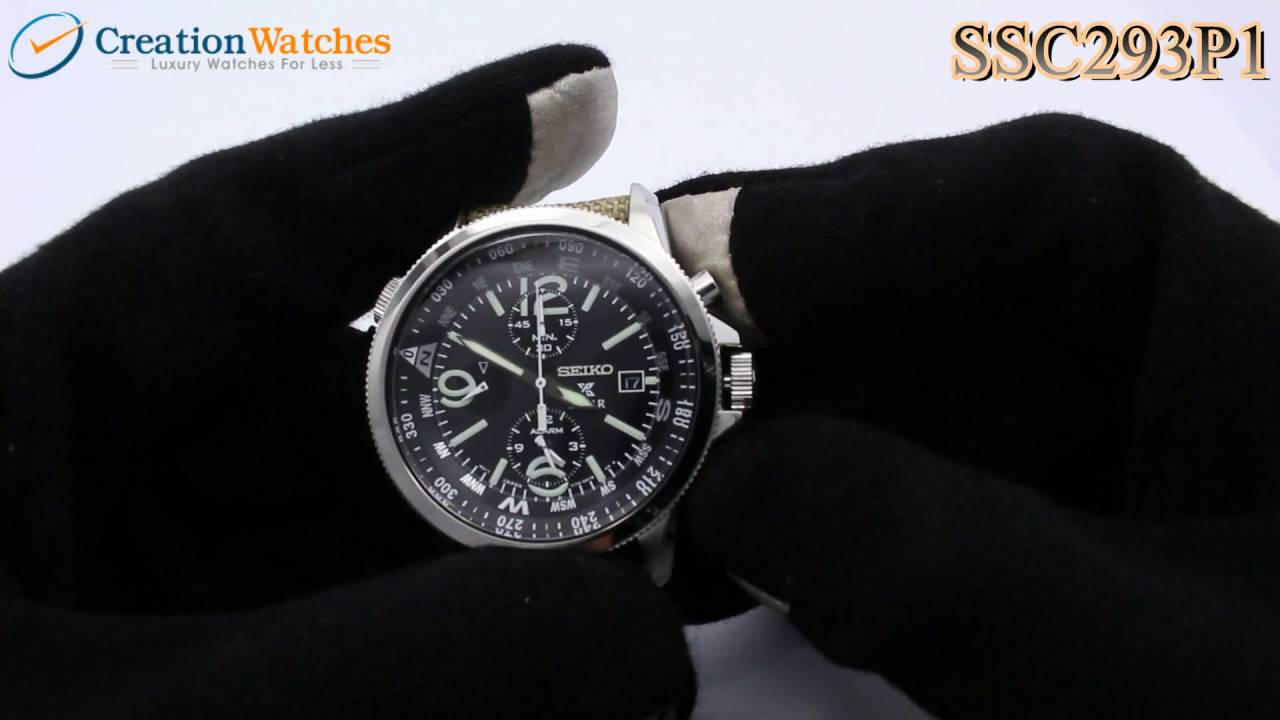 creation seiko flightmaster watch creationwatches watches slide chronograph pilot rule