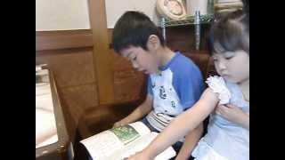 小学2年生の国語教科書より「たんぽぽ」 朗読 大村滉 7歳。 2013...