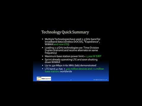 2.5 GHz Spectrum Lease Auction