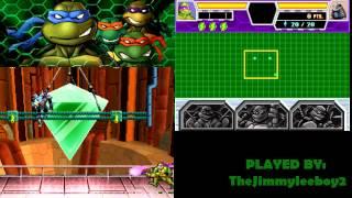 Teenage Mutant Ninja Turtles 3 - Mutant Nightmare - All Bosses - No Damage