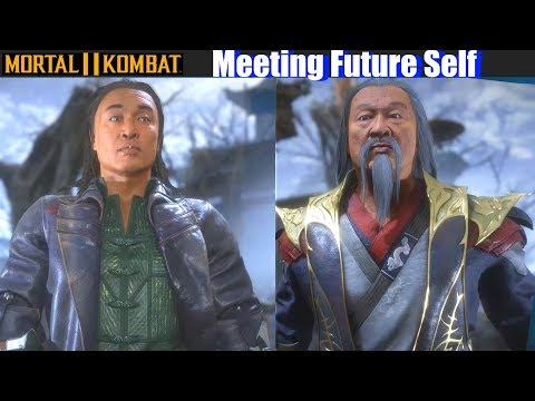 MK11 Characters meet their Future Self – Mortal Kombat 11