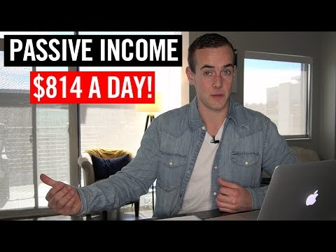 Passive Income: How I Made $814 A Day In March 2019 💸