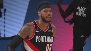 Carmelo Gets Revenge vs Rockets! 2020 NBA Restart