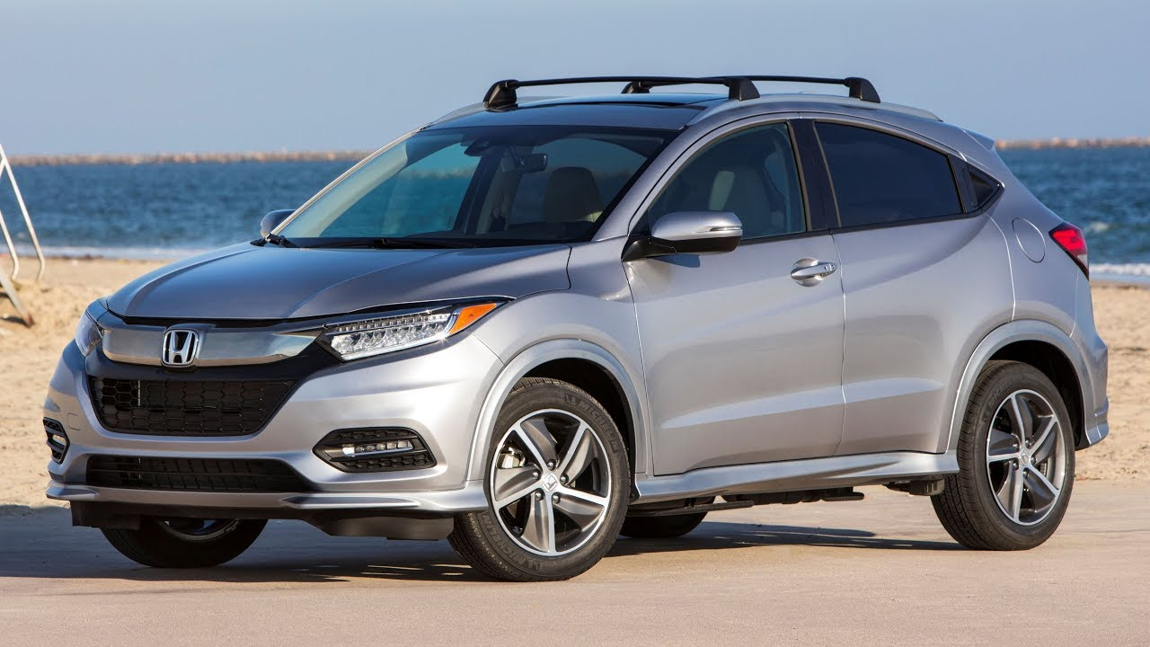2019 Honda Hr V Touring Interior Exterior And Drive