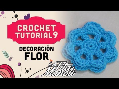Youtube Com Crochet : Crochet - Flor (Crochet Figuras) - YouTube