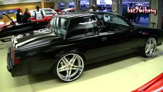 "84-87 Buick Grand National on 22"" Staggered Vossen Wheels - 1080p HD"