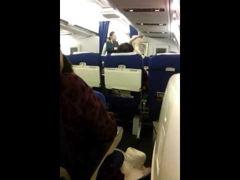 Turkmenistan Airlines safety video