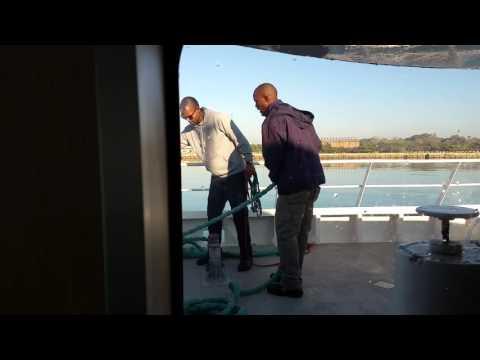 arriving Robben Island  FloJea Travel