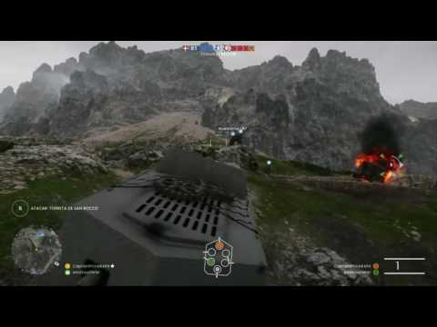 Battlefield 1 Modo Operaciones Muros de Acero Reino de Italia vs. Imperio Austro-Húngaro