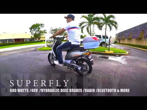 SUPERFLY ON THE GO AmericanElectric 600 Watts NO License 48V Lithium Battery Long Range & Affordable