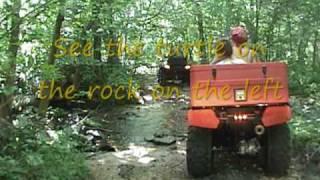 Arkansas ATV ride at Sandtown Farms near Batesville