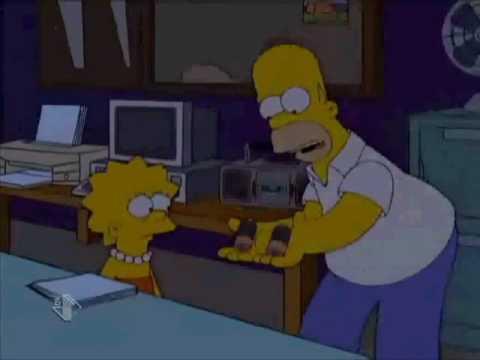 I Simpson Homer e La radio..