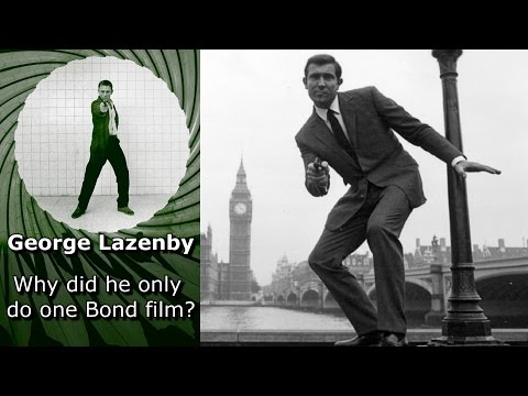 Why did George Lazenby only do one Bond film?
