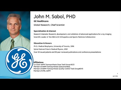 Orthopedic Applications of VolumeRAD* Digital Tomosynthesis: (full-length recording)