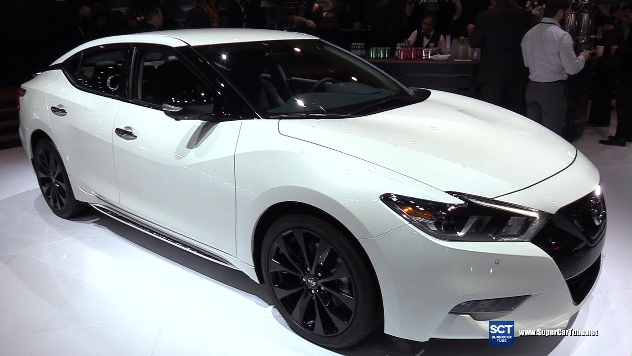 2018 Nissan Maxima Sr Midnight Edition Exterior Interior