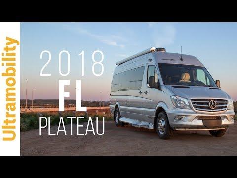 2018 Pleasure-way Plateau FL Review | A Front & Rear Lounge Luxury Class B Camper Van