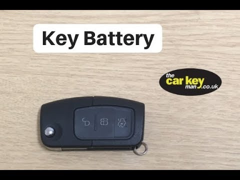 Key Battery Ford Key How To Change Youtube