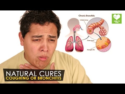 Coughing or Bronchitis - Natural Cures | Health Tone Tips