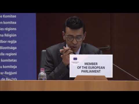 MON INTERVENTION À LA PLÉNIÈRE DU COMITÉ EUROPÉEN DES RÉGIONS