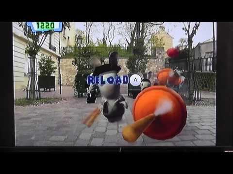 Rayman raving rabbids: paris,pour toujours shooting game |