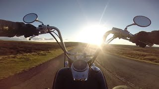 Honda Shadow VT750 Aero ride: My Favourite Local Road (GoPro)