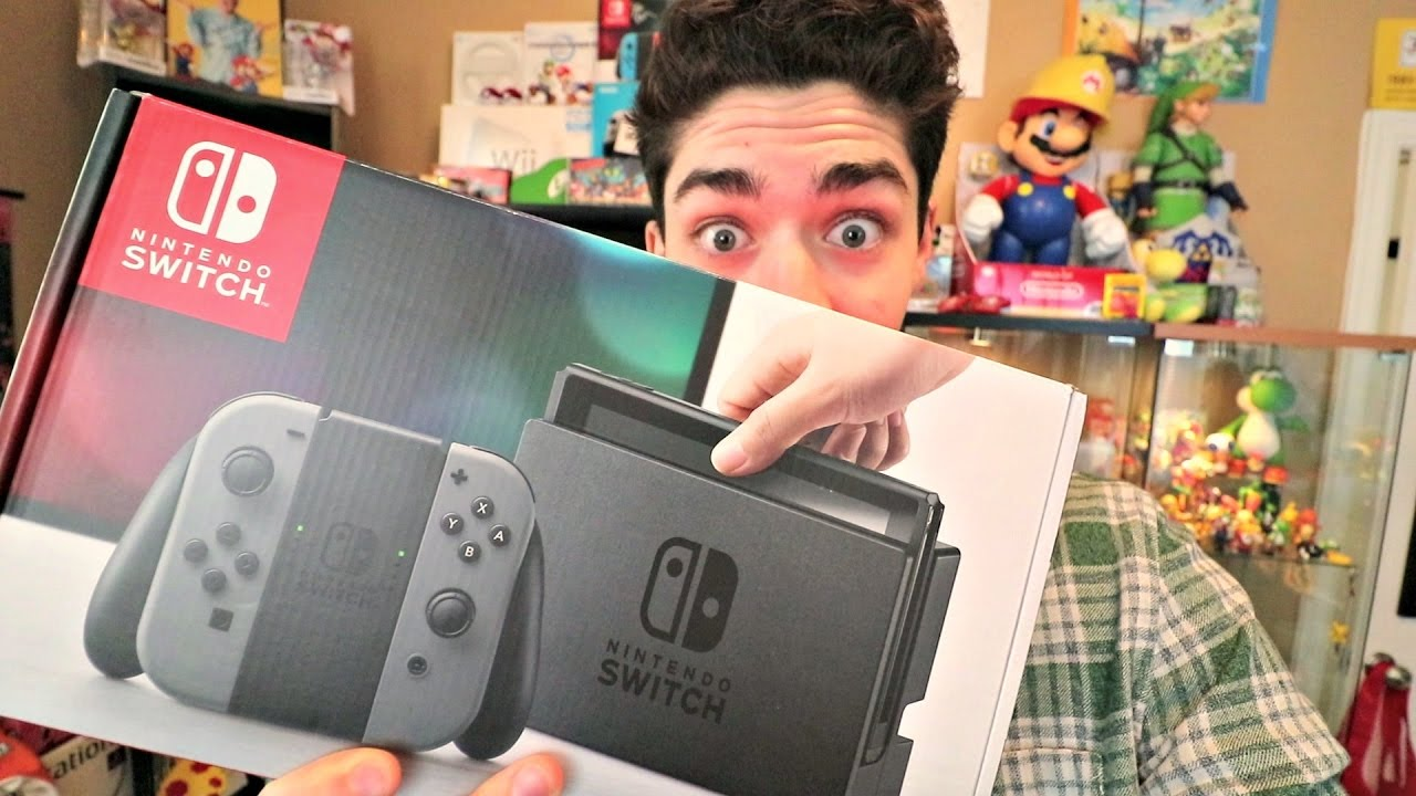 nintendo switch free giveaway i have an extra nintendo switch to giveaway youtube 6435