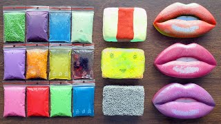 Making Slime with Bags and Clay - Slime Satisfying Videos
