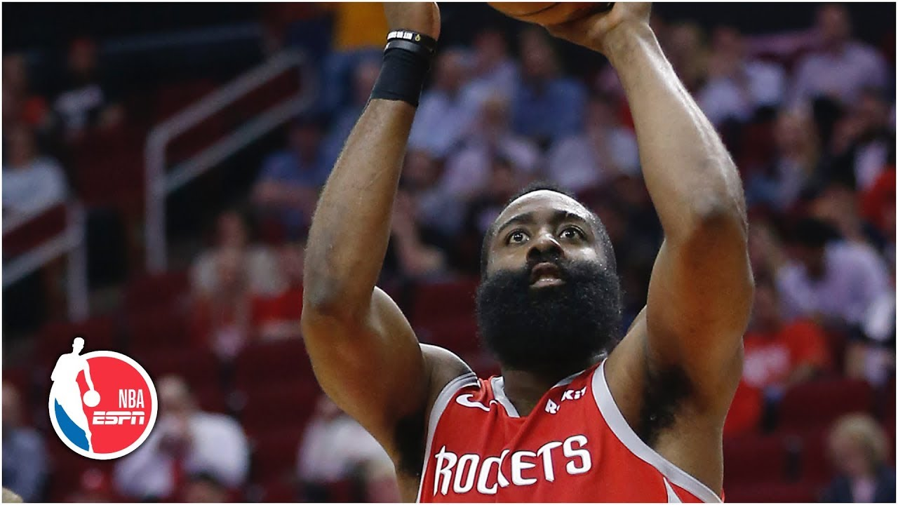 c0c49837410d James Harden rises up scoring rankings with 38 points in Rockets  win vs.  Nuggets