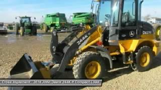 2016 John Deere 244K-II Minier, Springfield, Bloomington, and Peoria, IL 43485