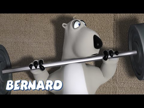 Bernard Bear | The Gym AND MORE | 30 minute Compilation