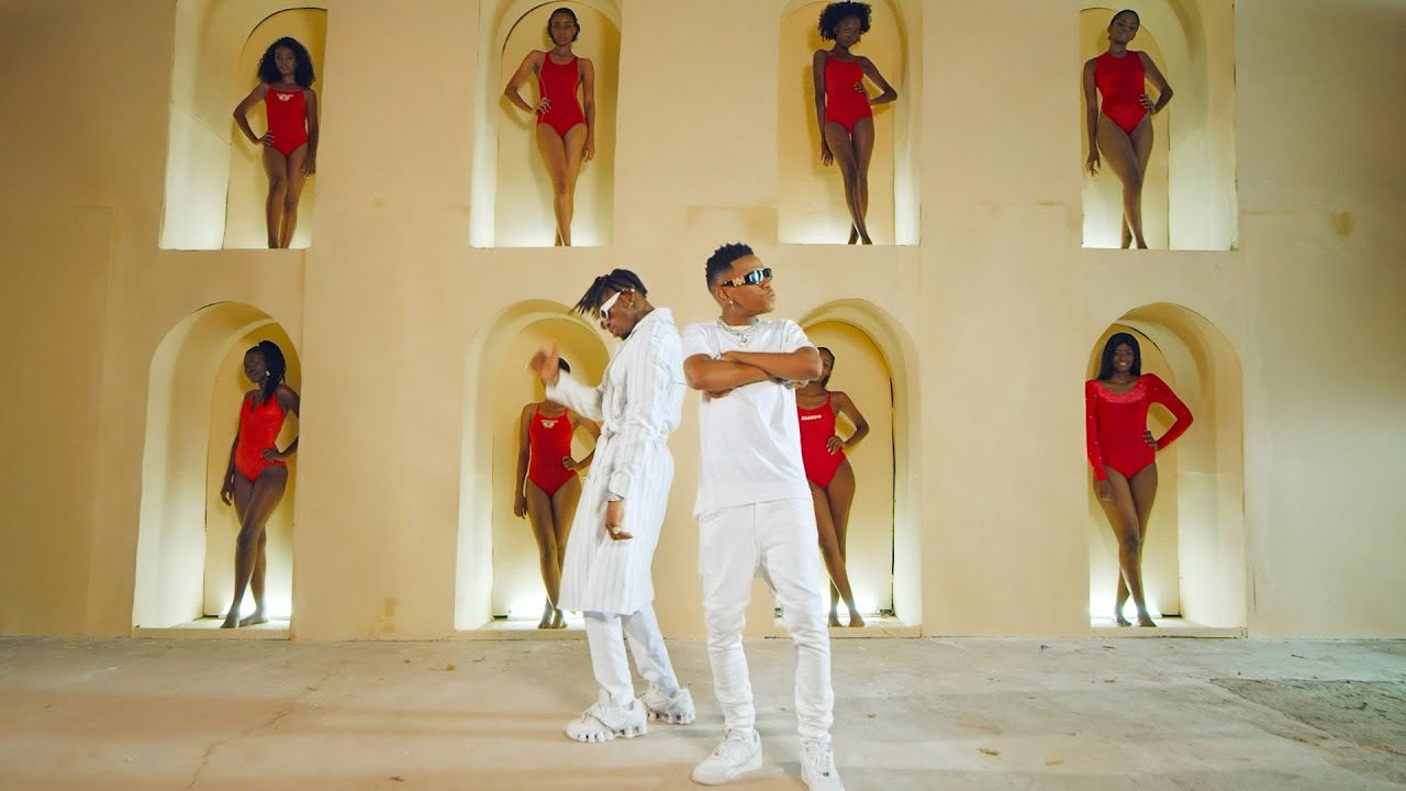 King 98 Ft Diamond Platnumz - Kachiri (Official Music Video)