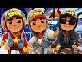 SUBWAY SURFERS CHRISTMAS 2017 SAINT PETERSBURG ✔ JAKE+STAR OUTFIT+DARK OUTFIT AND 130 MYSTERY BOXES