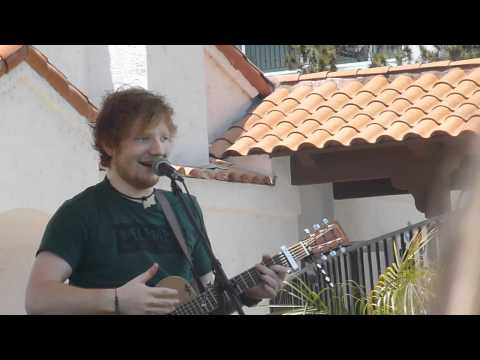 Ed Sheeran Discussing Nandos Skank (La Costa Private Gig) 05.12.12 KPRI FM