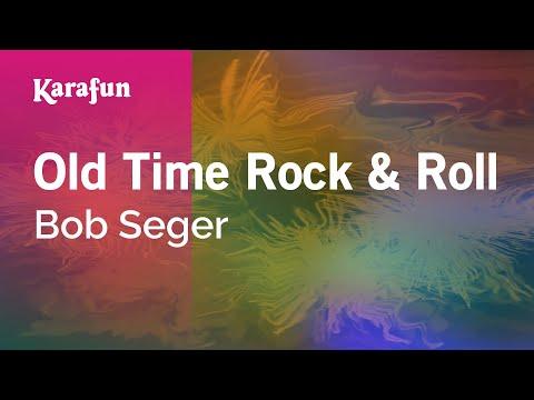 Karaoke Old Time Rock & Roll - Bob Seger *