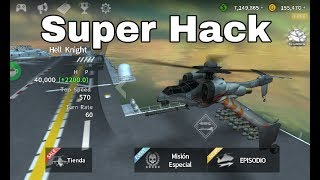 HACK GUNSHIP BATTLE ULTIMA VERSION!!! SIN ROOT