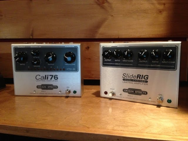 Origin Cali 76 and SlideRig compressors, demo by Pete Thorn
